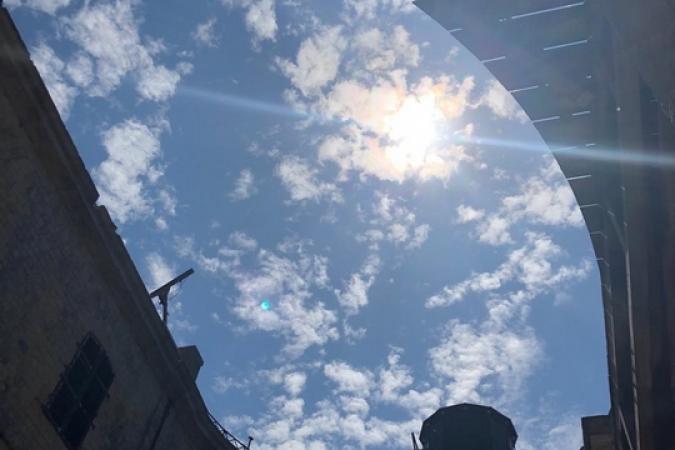 Fort Boyard 2019 - Soleil sur le fort (après les tournages)