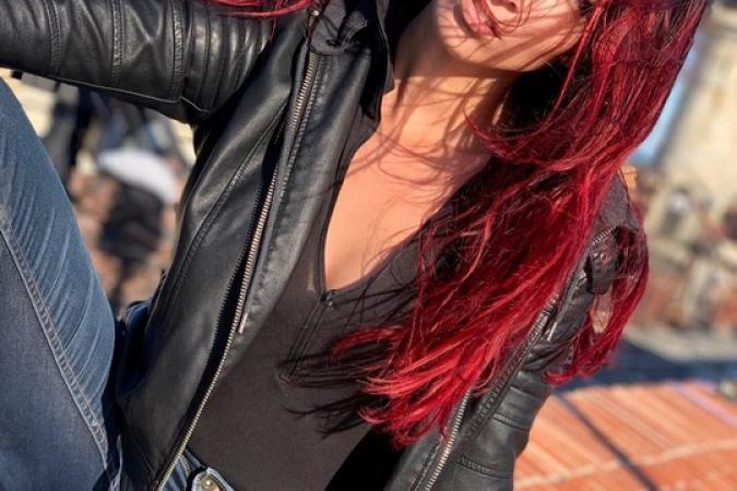 Fort Boyard 2019 - Delphine Wespiser prend la pose (après les tournages)