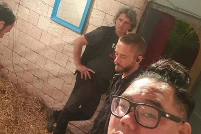 Fort Boyard 2019 - Sumo dans la cellule de la Cagoule (après les tournages)