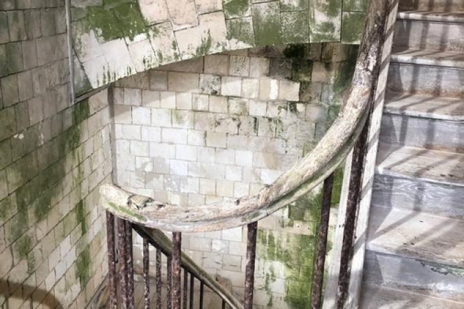 Fort Boyard 2019 - Les mythiques escaliers du fort (après les tournages)