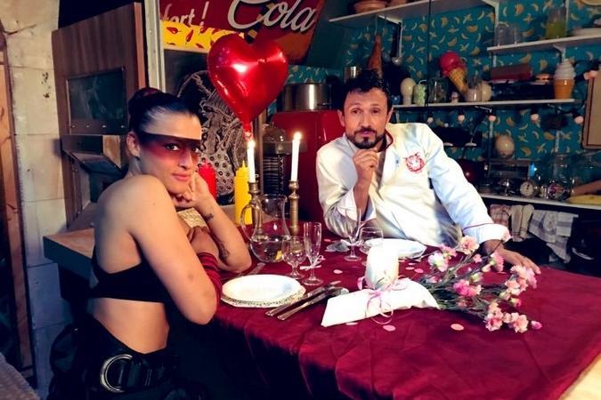 Fort Boyard 2019 - Dîner entre le Chef Willy et Lady Boo (après les tournages)