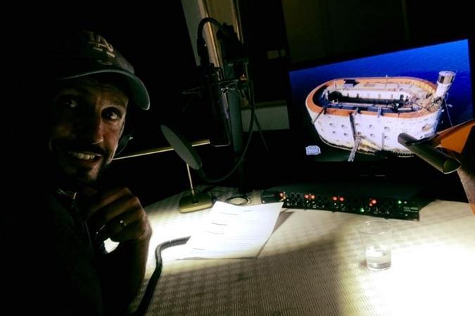 Fort Boyard 2019 - Enregistrement voix-off pour Willy Rovelli (après les tournages)