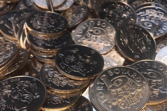 Fort Boyard 2019 - Les Boyards de collection de la Monnaie de Paris (après les tournages)