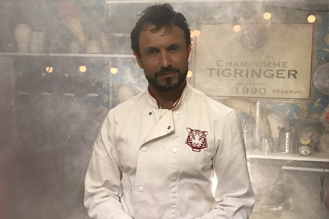 Fort Boyard 2019 - Le Chef Willy dans la fumée (après les tournages)