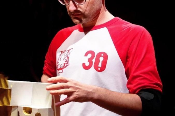 Fort Boyard 2019 - Le journaliste Benjamin Radier teste le nouveau duel du Puzzle 3D (après les tournages)