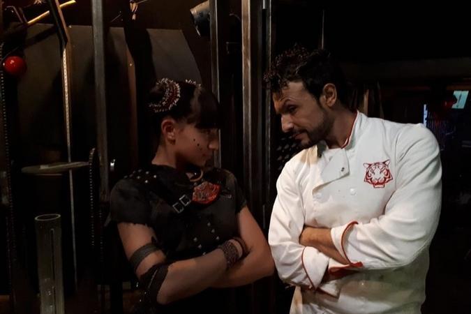Fort Boyard 2019 - Maï-Linh et Chef Willy (après les tournages)