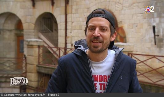 Interview de Guillaume Ramain (producteur artistique) par France 2