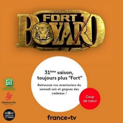 Jeu officiel Fort Boyard 2020 sur le web (Le Club FranceTV)