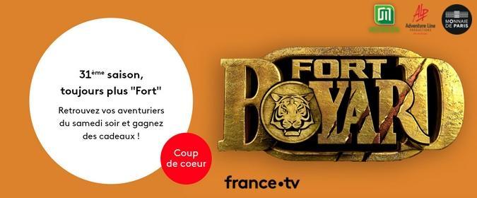 Fort Boyard 2020 - Jeu-concours web officiel Le Club France TV