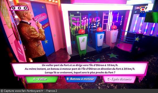 Fort Boyard 2020 : La nouvelle épreuve de Slaïme avec Cyril Gossbo