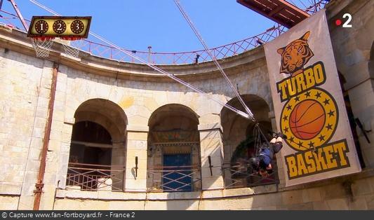 Fort Boyard 2020 : La nouvelle aventure du Turbo Basket
