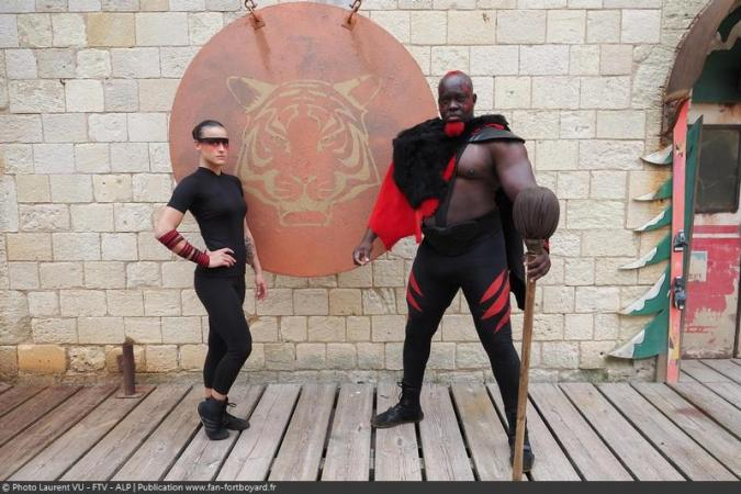 Fort Boyard 2020 - Lady Boo et Big Boo