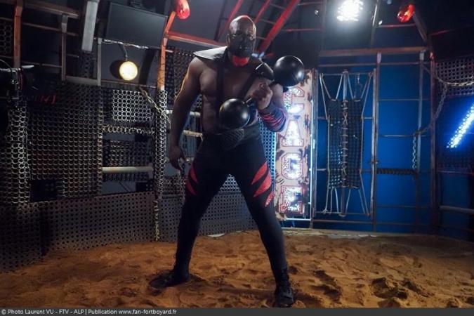 Fort Boyard 2020 - Big Boo dans la Cage