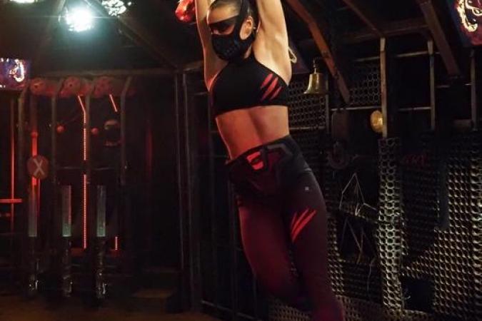 Fort Boyard 2020 - Lady Boo dans la Cage