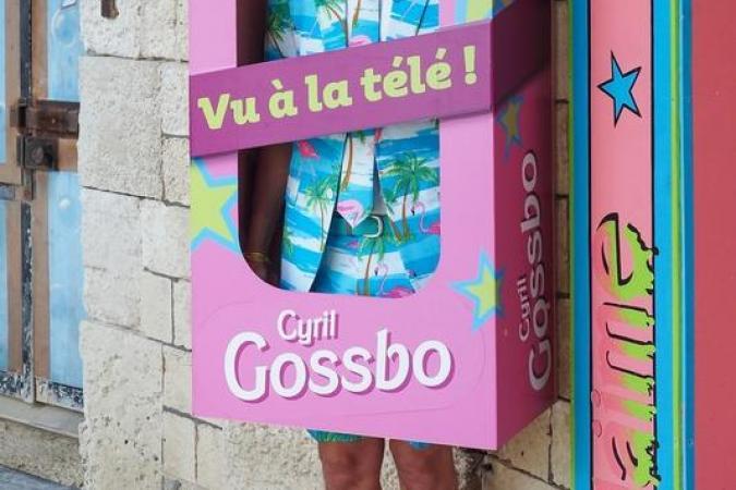Fort Boyard 2020 - Cyril Gossbo