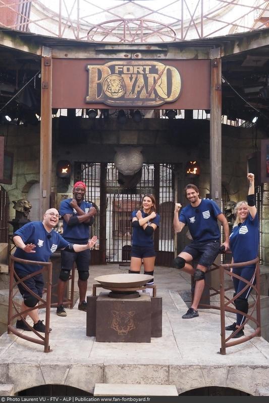 [Spoilers] Présentation > Fort Boyard 2020-08 - RoseUP (29/08/2020) Fort-boyard-2020-officielle-equipe08-34