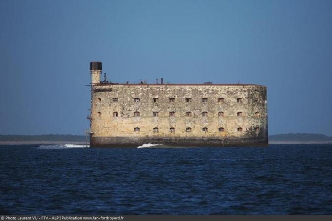 Fort Boyard 2020 - La façade Est du fort