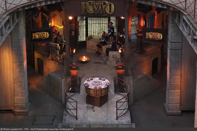 Fort Boyard 2020 - Le proscenium lors de l'after