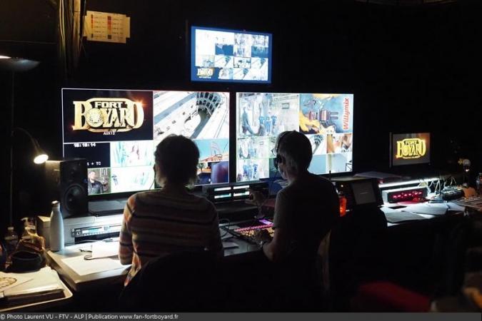 Fort Boyard 2020 : Les coulisses du fort - La régie vidéo