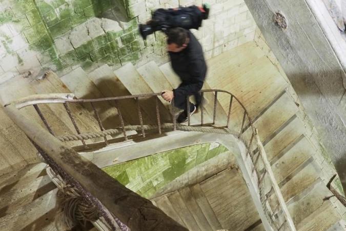 Fort Boyard 2020 : Les coulisses du fort - Un cadreur