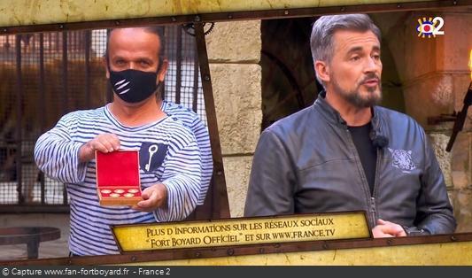 Fort Boyard 2020 : L'équipe reçoit en cadeau 5 Boyards de collection de la Monnaie de Paris