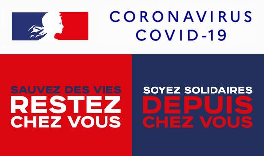 Visuels officiels Coronavirus COVID-19 du gouvernement