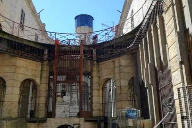 Fort Boyard 2020 - Aménagement du fort en cours (19/05/2020)