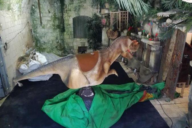 Fort Boyard 2020 - L'épreuve du Rodéo Dino est toujours présente (26/05/2020)