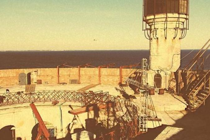Fort Boyard 2020 - La vigie au soleil couchant (27/05/2020)