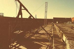 Fort Boyard 2020 - De nouvelles colonnes sur la terrasse (27/05/2020)