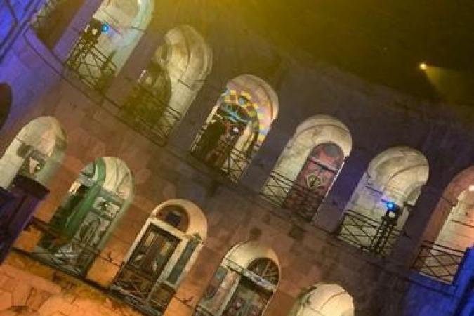 Fort Boyard 2020 - Première photo de la cour et découverte de 2 nouvelles portes (11/06/2020)