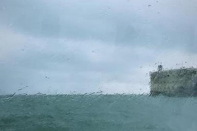 Fort Boyard 2020 - Le premier tournage commence sous la pluie (13/06/2020)