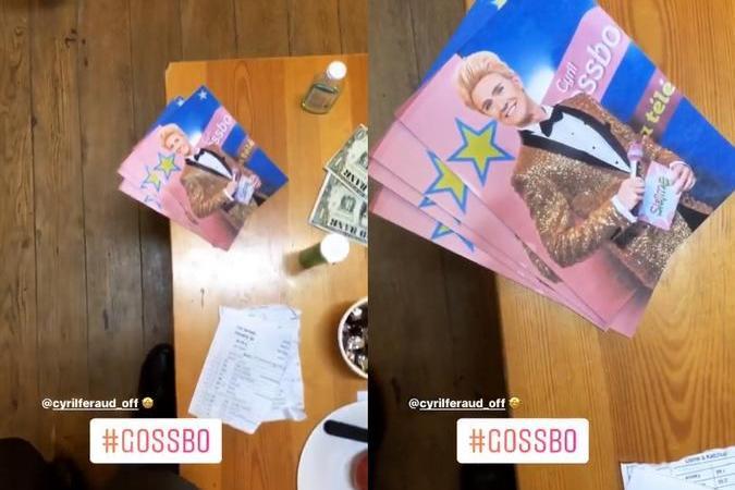 Fort Boyard 2020 - Des affiches à la gloire de Cyril Gossbo (17/06/2020)