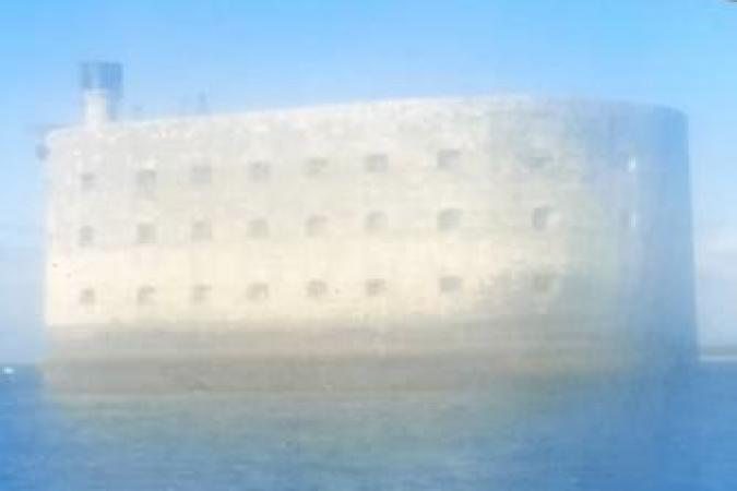 Fort Boyard 2020 - Arrivée matinale au Fort Boyard (18/06/2020)