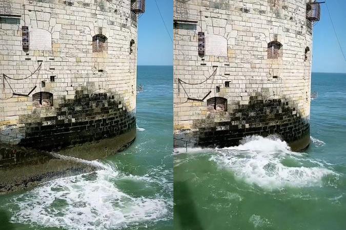 Fort Boyard 2020 - Quelques vagues malgré le beau temps (22/06/2020)