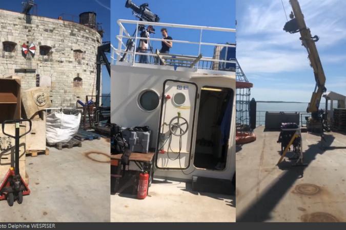 Fort Boyard 2020 - Sur la plate-forme extérieure (24/06/2020)