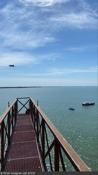 Fort Boyard 2020 - Tournage avec un drone (24/06/2020)