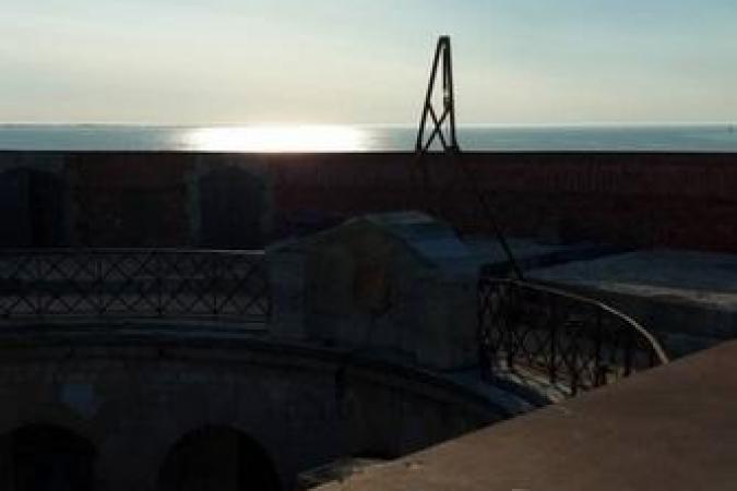 Fort Boyard 2020 - Vue de la terrasse (24/06/2020)