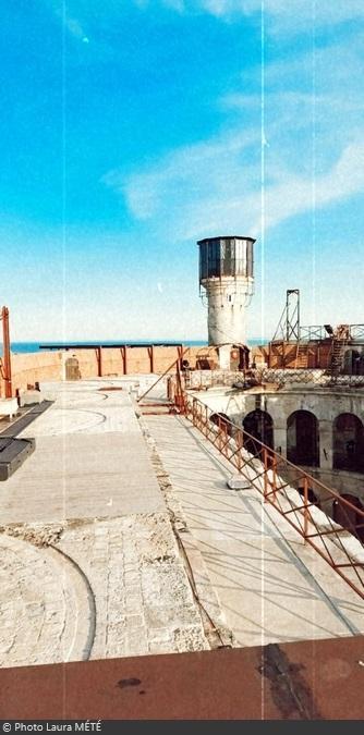 Fort Boyard 2020 - Vue sur la vigie (24/06/2020)