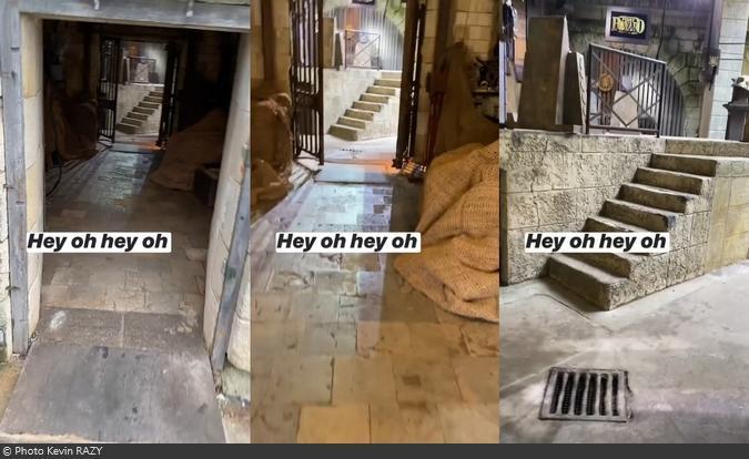 Fort Boyard 2020 - Entrée dans le fort par la cellule 001 (26/06/2020)