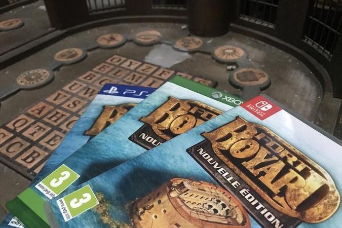 Fort Boyard 2020 - Le nouveau jeu vidéo est arrivé jusqu'au fort (10/07/2020)