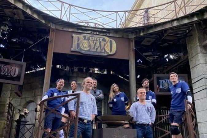Fort Boyard 2020 - Equipe tournage B (15/06/2020)