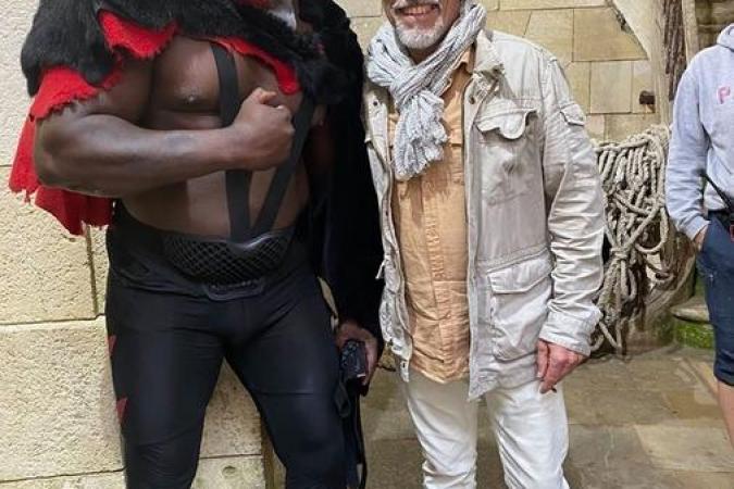 Fort Boyard 2020 - Big Boo et le magicien Serge Avril (02/08/2020)
