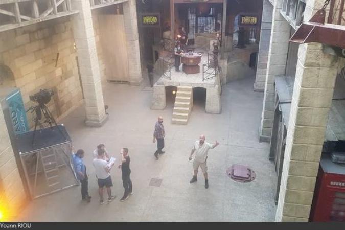 Fort Boyard 2020 - La cour intérieure (29/08/2020)