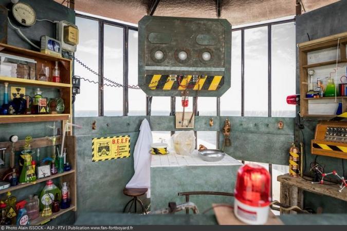 Fort Boyard 2021 - B.E.E.F dans la vigie