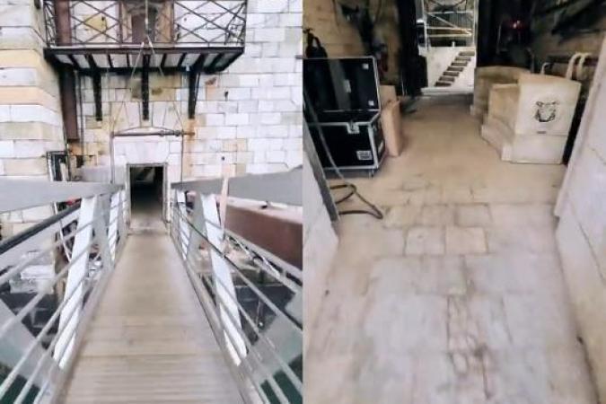 Fort Boyard 2021 - Entrée dans le fort par la cellule 001 (21/04/2021)