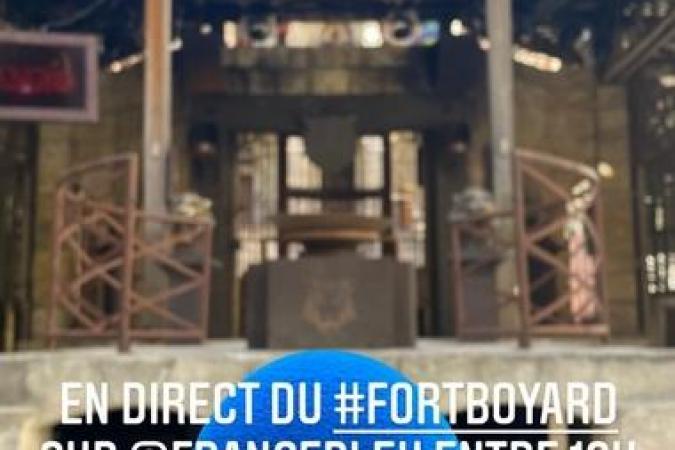Fort Boyard 2021 - Deuxième émission de radio en direct pour Willy Rovelli (11/05/2021)