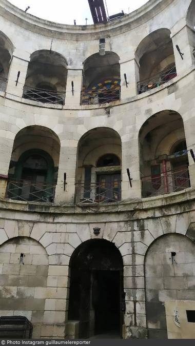 Fort Boyard 2021 - Vue générale de la cour intérieure (11/05/2021)