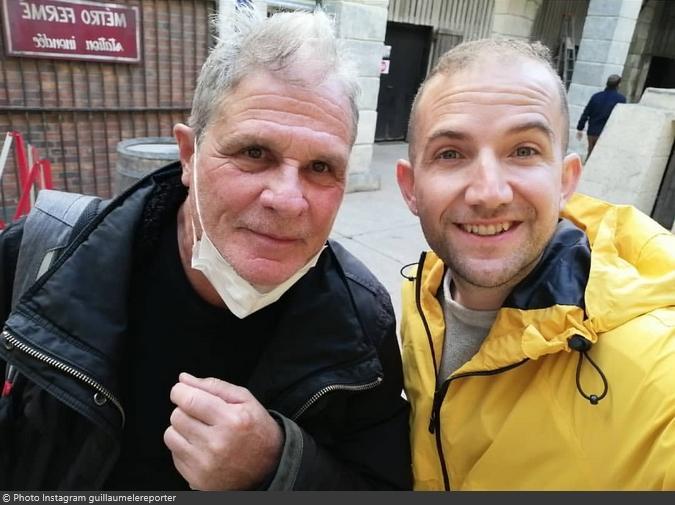 Fort Boyard 2021 - Le journaliste Guillaume Faivre et Yann Le Gac (11/05/2021)