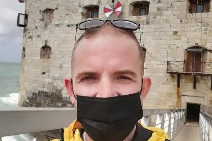 Fort Boyard 2021 - Le journaliste Guillaume Faivre est sur le fort (11/05/2021)